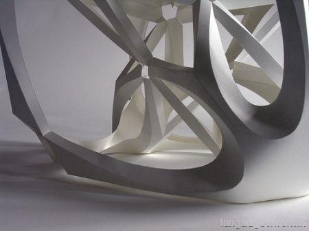 Гениальные скульптуры из бумаги Ричарда Свини